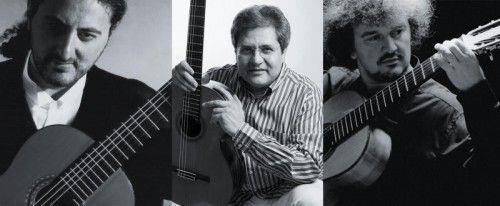Das Programm des Trio Naxos enthält sowohl Originalliteratur als auch Bearbeitungen für eine, zwei oder drei Gitarren. foto: trio naxos