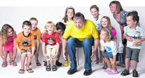 """Das Projekt """"Gauls Kinderlieder"""" läuft seit 30 Jahren: """"Pädagogen, Politiker, Musiker und Eltern müssen sich viel intensiver damit auseinandersetzen, was in einem Kind vorgeht.""""  Foto: Spielboden"""