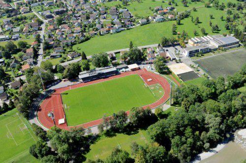 Das Stadion an der Birkenwiese wird um einen neuen Trainingsplatz erweitert. Foto: stadt