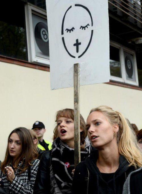 Das Verbot hatte zu zahlreichen Protesten geführt. Foto: AFP