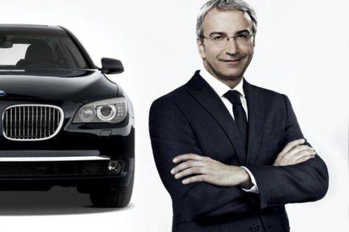 Der Automobilmanager Thomas Giuliani ist bei der Entwicklung neuer Antriebe ganz vorne dabei. Foto: BMW