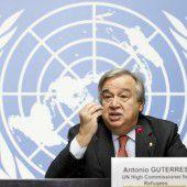 Guterres nun offiziell als UNO-Chef nominiert