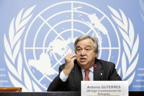 Der ehemalige UN-Flüchtlingshochkommissar soll dem Südkoreaner Ban Ki-moon nachfolgen. Foto: AP