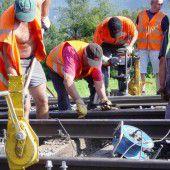 Bahnverkehr Bregenz-Lindau eingeschränkt