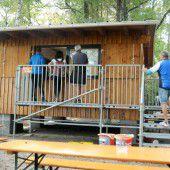 Rheinholz-Kiosk wieder geöffnet