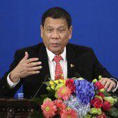 Duterte erklärt offiziell Bruch mit den USA