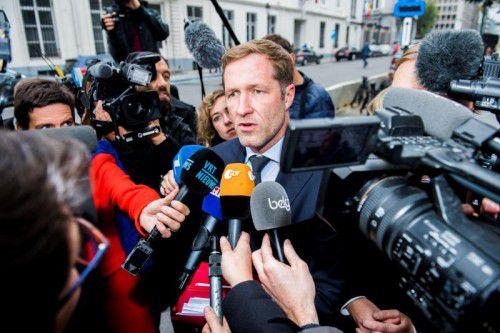 Der Regierungschef der belgischen Region Wallonie, Paul Magnette, lehnt den Handelsdeal ab. AFP