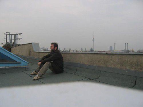 Der Vorarlberger Komponist Alexander Moosbrugger lebt vorwiegend in Berlin. Foto: Moosbrugger