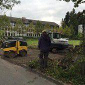 Notparkplatz als erster Bauschritt für Millionenprojekt in Feldkirch