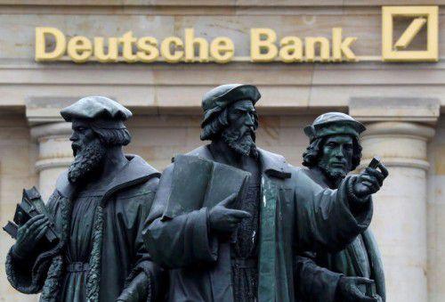Die Deutsche Bank steckt in einer schweren Krise. Foto: Reuters