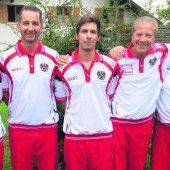 EM-Bronze für Ill, Klaus und Matic im Team