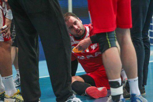 Die Enttäuschung auf Seiten von Michael Knauth und seinen Hardern war nach der ersten Saisonniederlage und dem Ausscheiden in Minsk groß. gepa