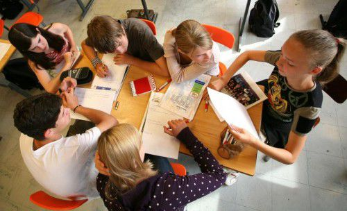 Die gemeinsame Schule der Zehn- bis 14-Jährigen wurde in Südtirol in den 1960ern eingeführt. Foto: APA