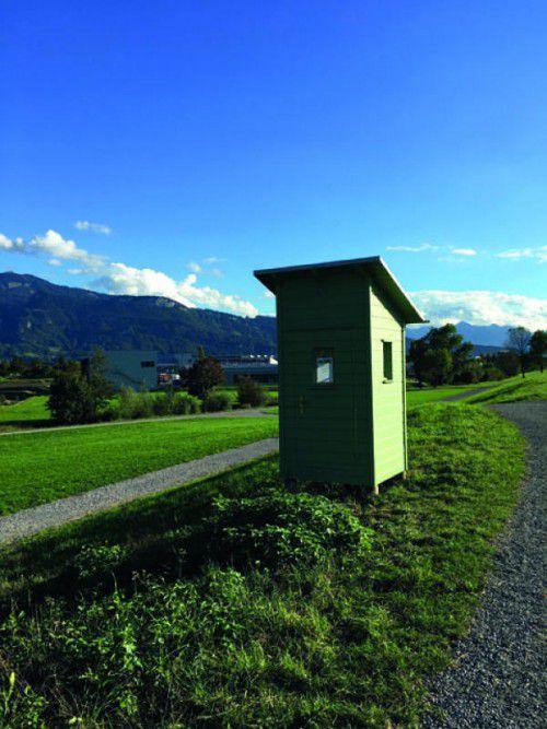 Die Grenzerhütten werden am 23. Oktober eröffnet.  gemeinde