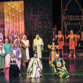 Verdis Nabucco 2017 auf Jubiläumstournee