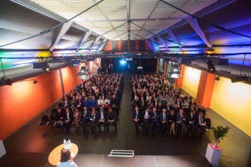 Die KMU-Preisverleihung bietet den kleinen und mittleren Unternehmen im Land eine große Bühne. Foto: VN/Steurer