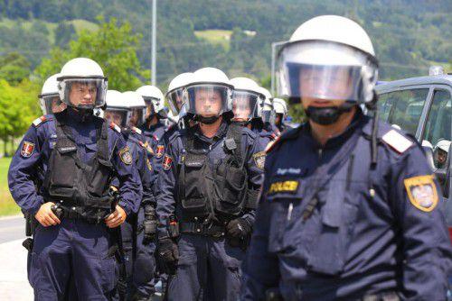 Die Polizei arbeitet enger zusammen. Foto: VN/Hofmeister