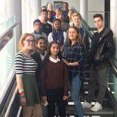 Interkultureller Austausch mit Schülern aus Indien