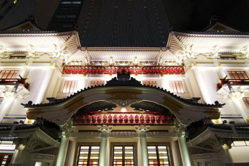 Die Schwingungsisolierung für Japans größte Theater-Drehbühne im Kabuki-Theater stammt von Getzner Werkstoffe.