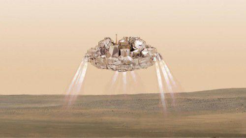 Die Sonde war beim Aufprall auf dem Mars explodiert. Foto: AP
