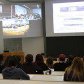 Live-Stream-Vorlesung für gemeinsame Ausbildung