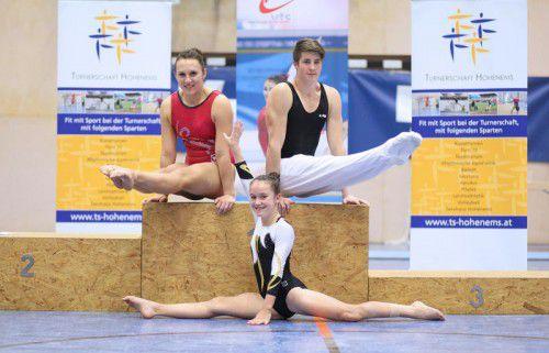 Die Titelträger in den Elitebewerben: Marlies Männersdorfer, Christina Wegscheider und Fabio Sereinig. Foto: Verband