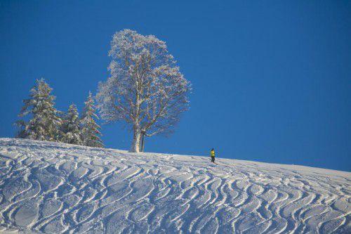 Die Touristiker konzentrieren sich bereits auf den Winter. Die Erwartungen sind hoch. Foto: VN/paulitsch