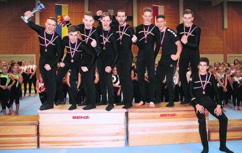 Die Wolfurter Herren sicherten sich vor ihrem EM-Start am 12. Oktober den Landesmeistertitel in der Meisterklasse.