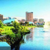 Stadtleben in Adelaide