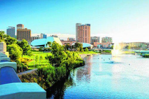 Die wunderschöne Stadt Adelaide hat einiges zu bieten.