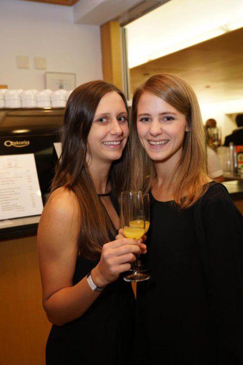 Die zwei Schwestern Leah und Hannah Dorner.