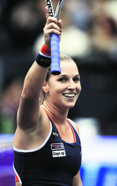 Dominika Cibulkova steht in Linz im Viertelfinale. Foto: gepa