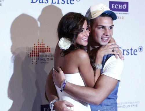 Ein Bild aus glücklicheren Tagen: Die Ehe von Sarah und Pietro Lombardi ist nach wilden Gerüchten wohl offiziell am Ende. Foto: Reuters