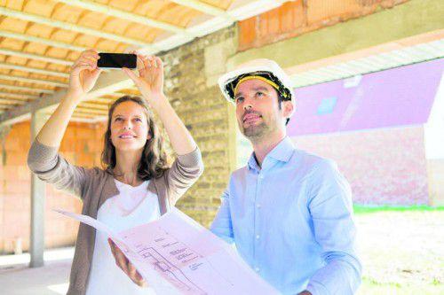 Eine genaue Baudokumentation ist auch im Schadensfall nützlich. Foto: Shutterstock