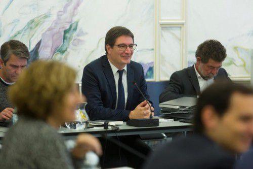 Einwallner leitete seine erste U-Ausschusssitzung. Foto: VN/Paulitsch