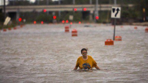 """Elf Tote, Zerstörungen, Stromausfälle und schwere Überschwemmungen – """"Matthew"""" hat im US-Südosten seine Visitenkarte hinterlassen. AP"""