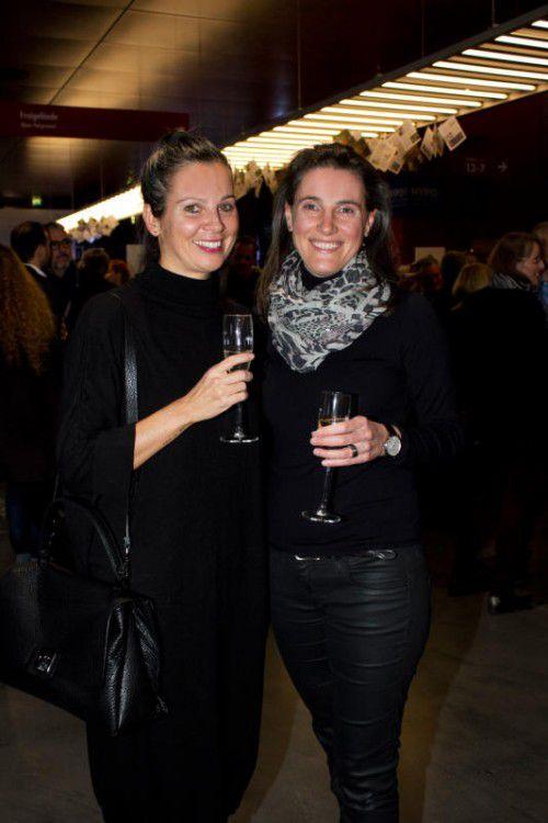 Eva Nagel (VLV) und Daniela Bacher.