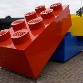 Tonnenweise alte Legosteine
