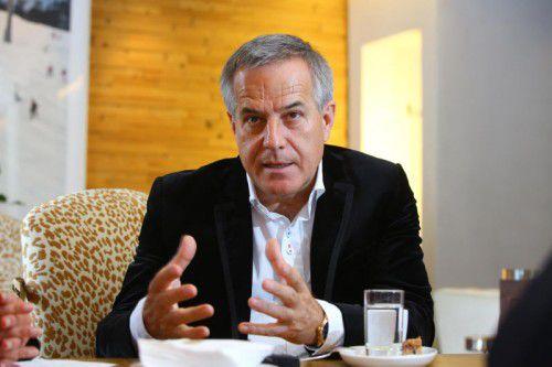 Für den Manager Siegfried Wolf, der in Österreich und Russland engagiert ist, ist es an der Zeit, die Sanktionen zu beenden. Foto: VN/Hofmeister