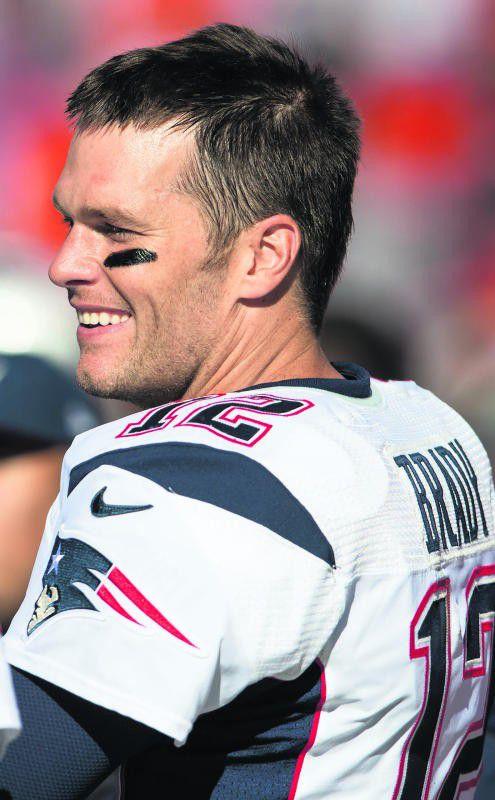 Ganz der Alte: Patriots-Quarterback Tom Brady. Foto: ap