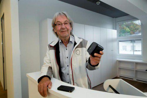 Gerhard Marte will mit adele:systems alle bisher bekannten Mautsysteme revolutionieren bzw. ersetzen. Foto: VN/Paulitsch