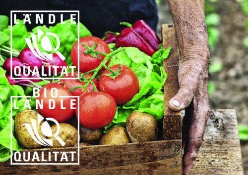 Gesunde Lebensmittel aus Vorarlberg werden mit dem Ländle-Gütesiegel ausgezeichnet und garantieren den Verbrauchern allerbeste Qualität.