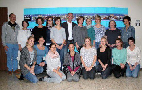 Große Freude herrscht an der Volksschule Ludesch über die verliehene Auszeichnung. Foto: VN/js