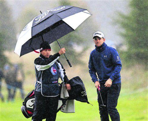 Gute Runde im englischen Regen: Bernd Wiesberger. Foto: reuters