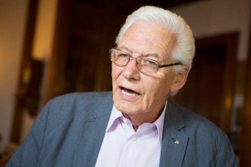 """Hanno Hämmerle: """"Dkfm. Klaus Ulmer hat mich seinerzeit in die Messe geholt.""""  Foto: VN/Hartinger"""
