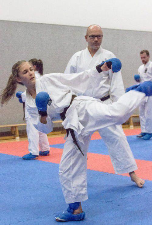 Harald Ellensohn ist seit der Vereingründung 1984 als Trainer beim Karateclub Götzis tätig. Foto: Verein