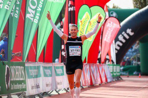 Harald Steger lief mit einer Zeit von 2:35:31 Stunden zu seinem achten Marathon-Landesmeistertitel.