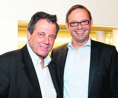 Heinz Fischer (l.) und Daniel Steinhofer.