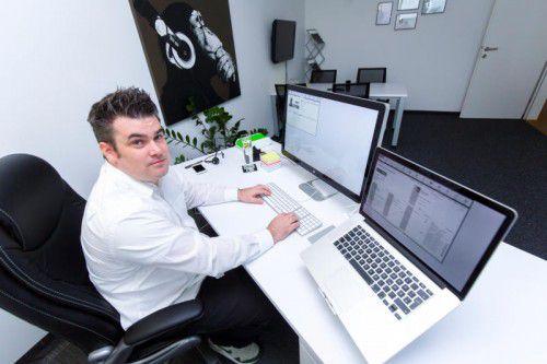 Herausforderungen sieht Florian Matt in der Markenbildung und Steigerung der Bekanntheit. Foto: VN/Paulitsch