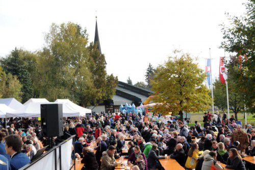 Heute, am Nationalfeiertag, findet der Herbstmarkt statt. Foto: ajk
